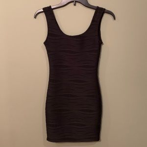 5 for $25 - Black Bodycon Dress